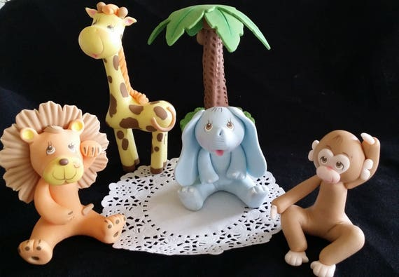 animal wedding cake toppers uk safari animals cake topper baby animals jungle animals 10775