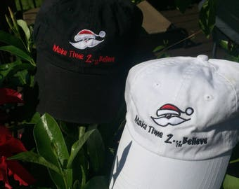 Make Time 2 Believe Embroidered Baseball Hat