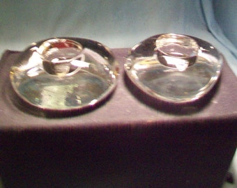 Two Orrefors Unusual Votives