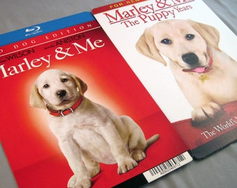 Marley & Me Notebook - Recycled DVD Backer