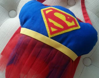 Supergirl Tooth Fairy Pillow
