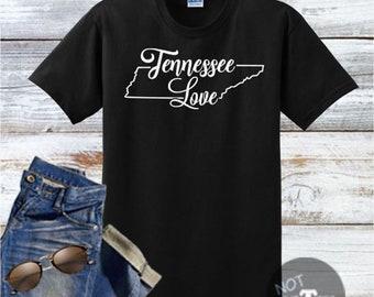 Tennessee Love Handmade Shirt, Best Selling, Top Seller, Top Selling Item, Top Sellers, Top Selling, Tennessee Item, SKU - 600