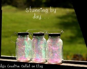 Fairy Lantern Solar Light Mason Jar Decor Mason Jar