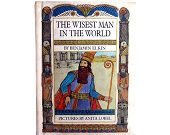 The Wisest Man In The World Parent's Magazine Press 1968 - Childrens Book - Illustrated Book - Read Aloud Story - Anita Lobel