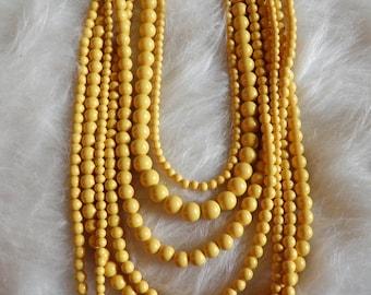Multi, Mulit Strand Resin Beads.
