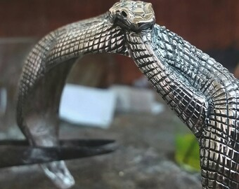 Sterling Silver Snake Bracelet Bangle