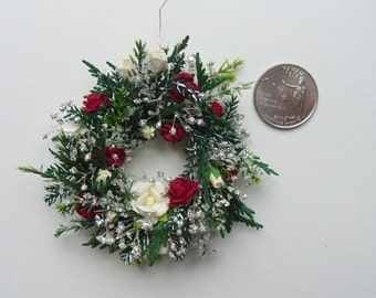 Icey Rose Miniature Wreath for You.