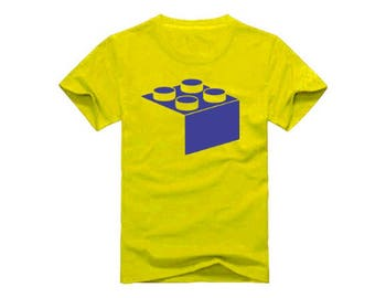 Brick T-Shirt for children - available in many sizes and colors
