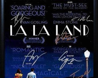 La La Land Autographed Movie Poster