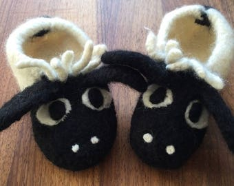 Felted Sheep Slippers gr. 25-45