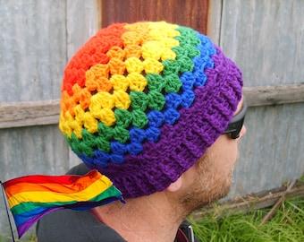 Cosy Pride Rainbow Beanie