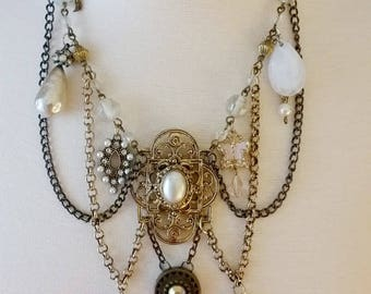 Victorian Touch - Upcycled Necklace