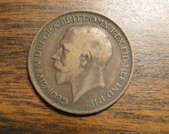 1918H Great Britain Penny - Great Find!