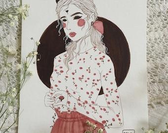 Valentine's Demon No. 1 (Original Artwork)