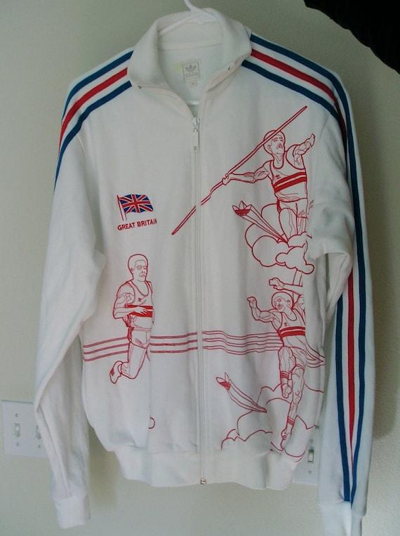 Vintage 80s adidas jacket