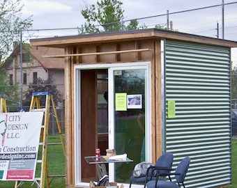 MINI MOD - affordable prefab office, playhouse, workspace - FREE installation