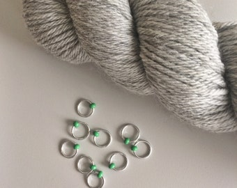 Stitch Markers. Progress Keeper. Snag Free. Knitting Stitch Markers. Knitting Notions. Knitting Tools. Gift for Knitter.