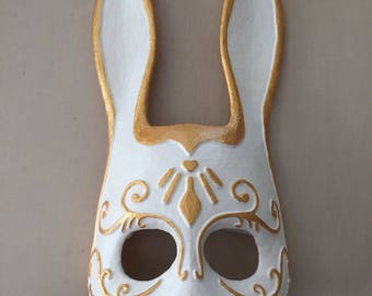 Splicer Bunny Mask | Cosplay | Bioshock| Halloween | Costume | Rabbit