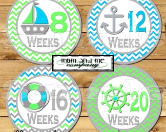14 Baby Bump Stickers Pregnancy Stickers Belly Stickers Weekly Stickers Pregnancy Photo Prop  Maternity Stickers Includes 2 BONUS St