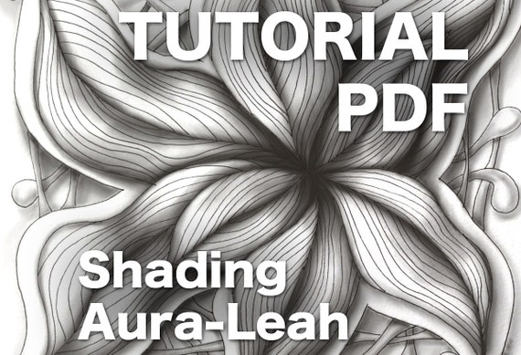 3d zentangle shading aura leah pdf ebook from enioken on etsy studio fandeluxe Image collections