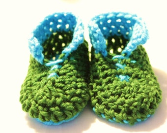 INSTANT DOWNLOAD PDF Pattern, chunky crochet slippers for kids