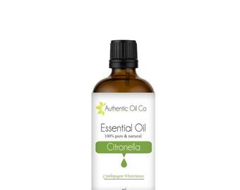 Citronella Essential Oil 100% Pure 10ml 50ml 100ml