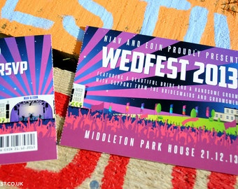 WEDFEST Wedding Invitations