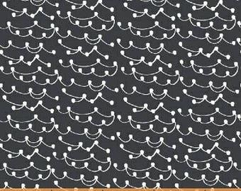 Lemmikki by Lotta Jansdotter for Windham Fabrics - 43092-4 - Slate - 1/2 Yard Cotton Quilt Fabric
