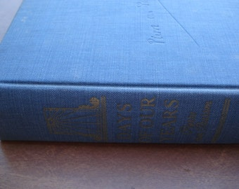 Days Of Our Years Book Vintage 1940s Book By Pierre Van Paassen