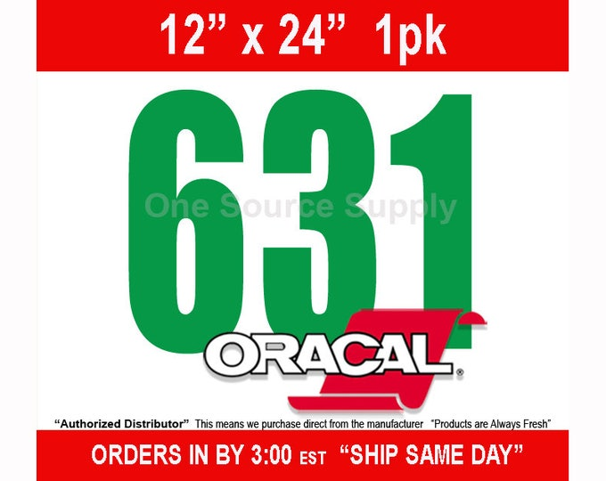 """12"""" x 24""""* / 1-sheet Oracal 631 Matte Finish Wall Vinyl - Removable Wall Vinyl - Craft Vinyl - Wall Quotes  -NEW COLORS"""