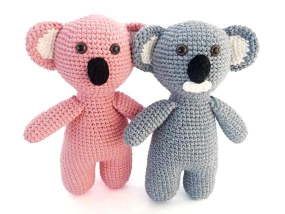 Easy Amigurumi Bear Pattern : Easy crochet toy pattern for amigurumi koala bear stuffed