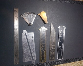 Vintage Watchmakers/Jewelers tools - 7 Vintage tools - All tools are in very good Condition