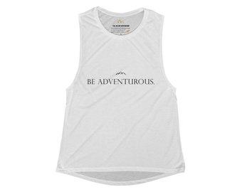 Be Adventurous WomenS Scoop Loose Muscle Tank