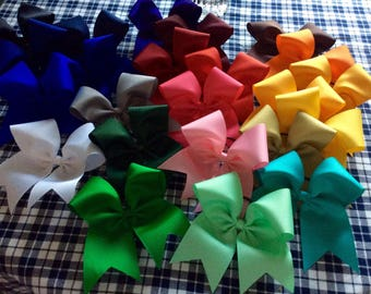 Cheer Bows/Cheer bow/team bows/softball bow/Bow/Cheerleading bow/Cheerleading bow