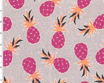 Michael Miller - Pineapple Palm - Pink