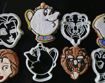 Beauty And The Beast Cookie Cutters