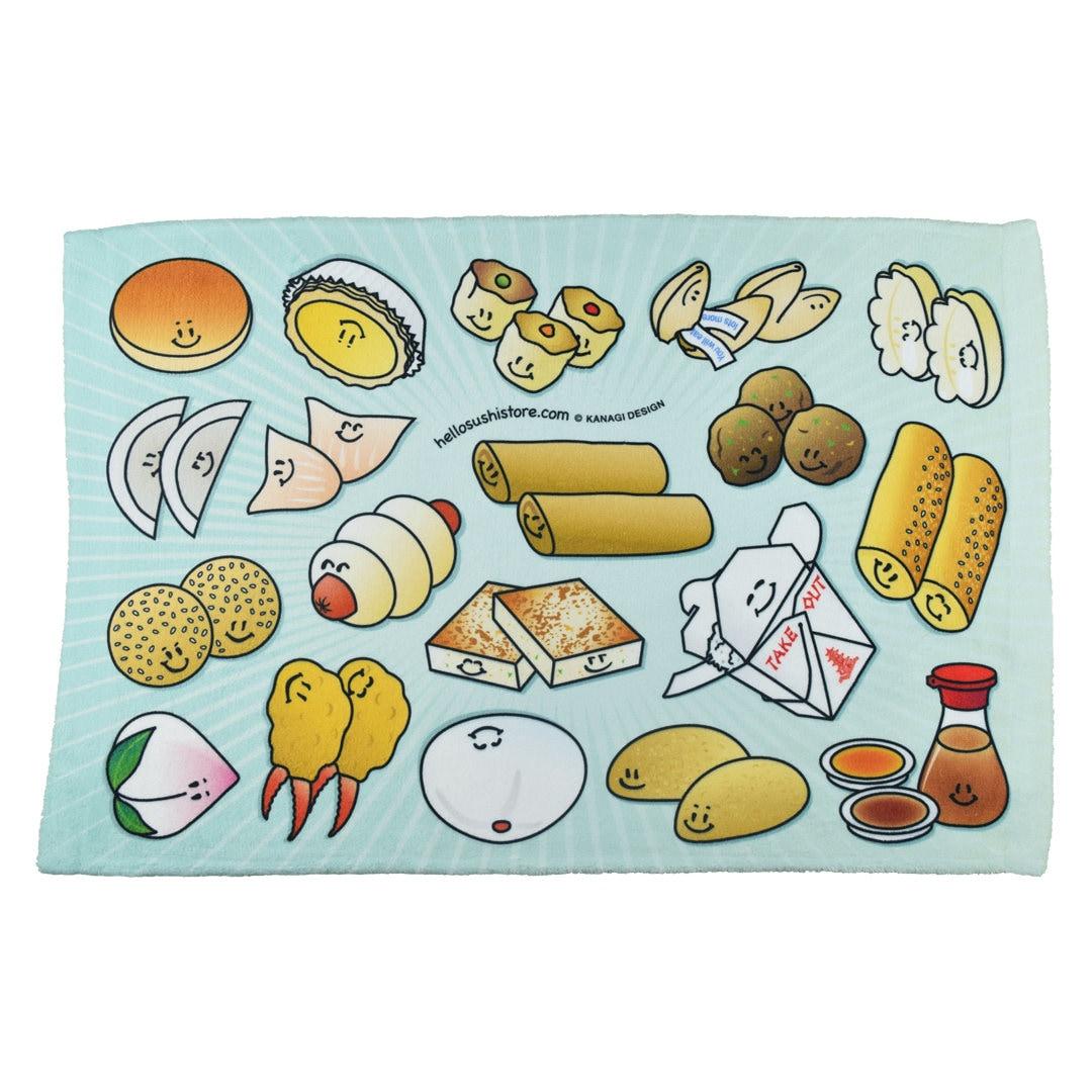 Dim Sum Hand Towel Dim Sum Towel Dim Sum Kitchen Towel Gift