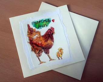 Mother's Day Card - Handmade Card