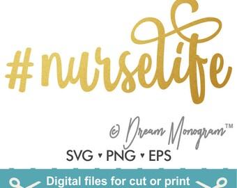 Nurse Svg Etsy
