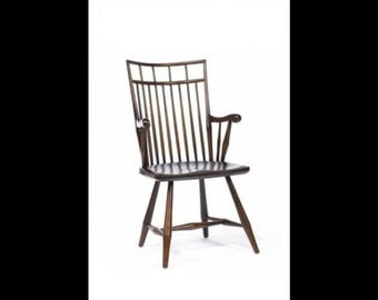 Contemporary Birdcage Windsor Arm Chair