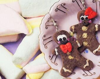It's Gingerbread, baby Earrings