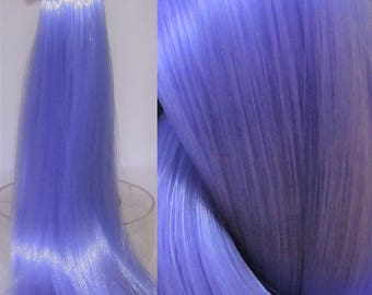 IRIS Light Pastel Purple Nylon Doll Hair for Custom OOAK/Rerooting