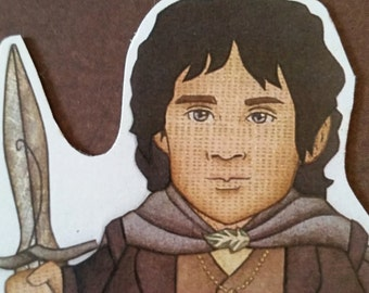 Elijah Wood as Frodo Baggins- Lord of the Rings Magnet