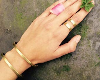 Boho ring boho rings bohemian rings gold boho ring boho bracelet boho jewelry set bohemian ring gold ring gold bracelet simple ring
