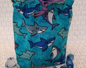Shark Attack Dicebag