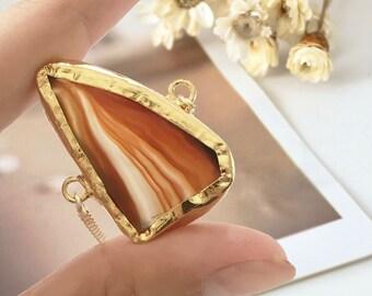 Agate Bracelet réglable avec ascenseur je verrouiller Bracelet guérison je cadeau pour les femmes je Bracelet bohémien je Bracelet de Yoga je Bracelet de pierres précieuses