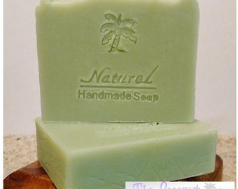 Tea Tree Soap / antibacterial soap / Essential Oil Soap / Natural Soap / Antibacterial Soap / 5oz bar soap / Vegan Soap / face soap