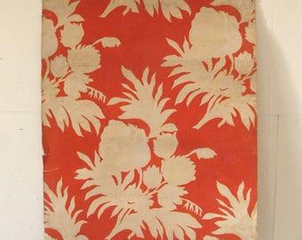 piece of antique wallpaper