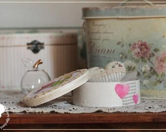 Romantic and fairy ornament box heart - unique OOAK
