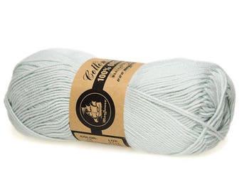 15 Light Mint Green Mayflower Organic Cotton 8/4 50g